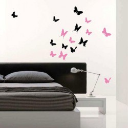 Motýli kŕdeľ - 14 kusov