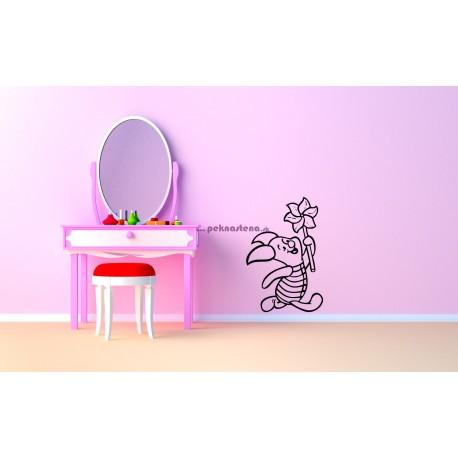 Nálepka na stenu - Prasiatko