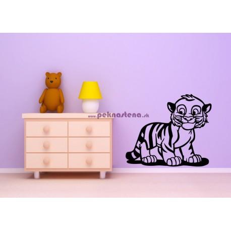 Nálepka na stenu - Tigrík Karol