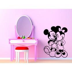 Náepka na stenu - Mickey & Minnie