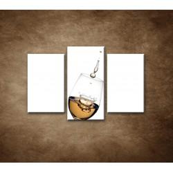 Obrazy na stenu - Biele víno - 3dielny 75x50cm