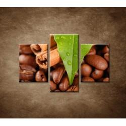 Obrazy na stenu - Káva - 3dielny 90x60cm