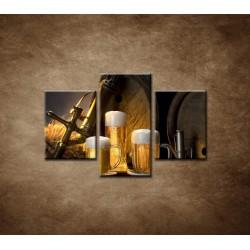 Obrazy na stenu - Pivný raj  - 3dielny 90x60cm