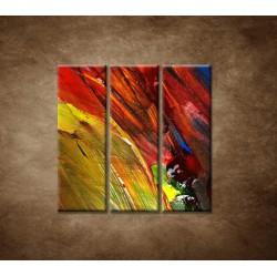 Obrazy na stenu - Zmes farieb - 3dielny 90x90cm