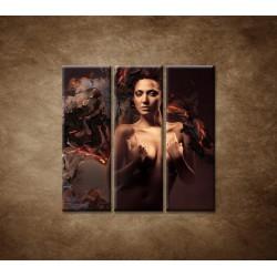 Obrazy na stenu - Sexi žena - 3dielny 90x90cm