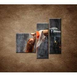 Obrazy na stenu - Tanečnica - 3dielny 110x90cm