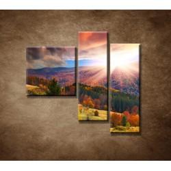 Obrazy na stenu - Farebná jeseň - 3dielny 110x90cm