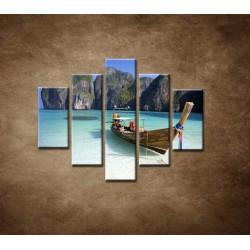 Obrazy na stenu - Zátoka - 5dielny 100x80cm