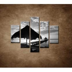 Obrazy na stenu - Výhľad na more - 5dielny 100x80cm