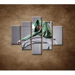 Obrazy na stenu - Hip-hoper - 5dielny 100x80cm