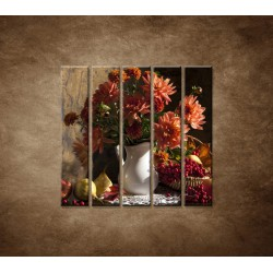 Obrazy na stenu - Kytica - 5dielny 100x100cm