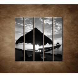 Obrazy na stenu - Výhľad na more - 5dielny 100x100cm