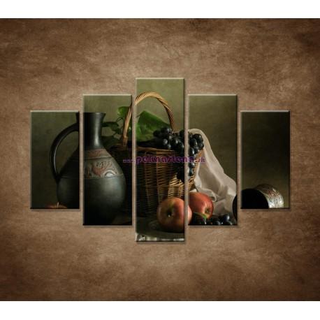 Obrazy na stenu - Zátišie - 5dielny 150x100cm