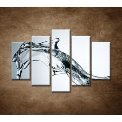 Obrazy na stenu - Tečúca voda - 5dielny 150x100cm