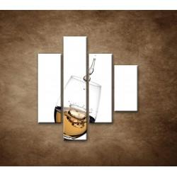 Obrazy na stenu - Biele víno - 4dielny 80x90cm