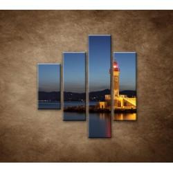Obrazy na stenu - Maják - 4dielny 80x90cm