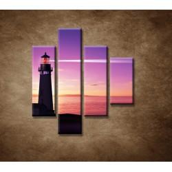 Obrazy na stenu - Lúč majáka - 4dielny 80x90cm