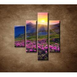 Obrazy na stenu - Západ slnka - 4dielny 80x90cm