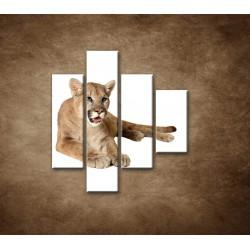 Obrazy na stenu - Levica - 4dielny 80x90cm
