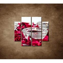 Obrazy na stenu - Aromaterapia - 4dielny 100x90cm
