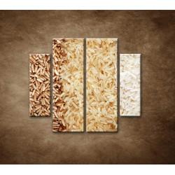 Obrazy na stenu - Tri druhy ryže - 4dielny 100x90cm