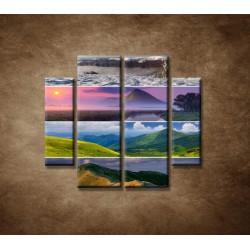 Obrazy na stenu - 4 ročné obdobia - 4dielny 100x90cm