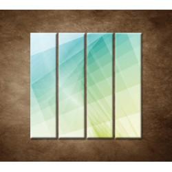 Obrazy na stenu - Farebná tapeta - 4dielny 120x120cm