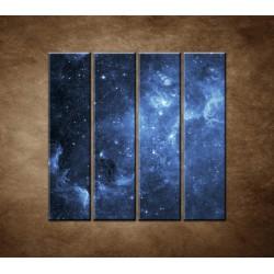 Obrazy na stenu - Galaxia - 4dielny 120x120cm