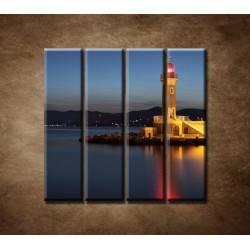 Obrazy na stenu - Maják - 4dielny 120x120cm