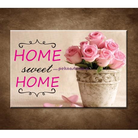 Obrazy na stenu - Home sweet home