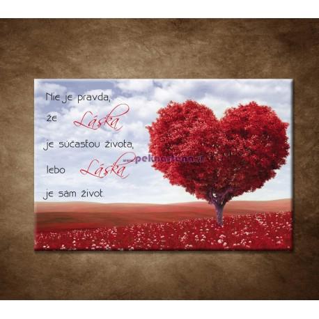 Obraz na stenu - Nie je pravda, že láska ...