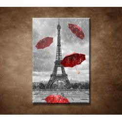 Červené dáždniky