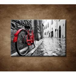 Obrazy na stenu - Červený bicykel