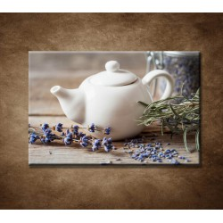 Obraz - Levanduľový čaj