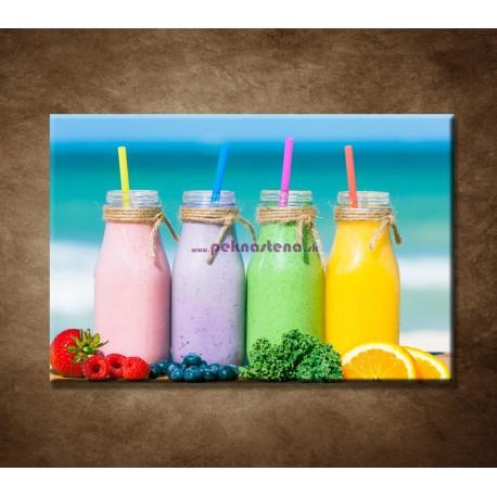 Obrazy na stenu - Ovocné smoothies