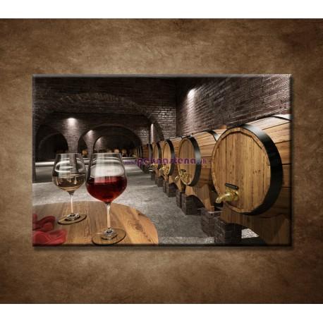 Obrazy na stenu - Staroveká pivnica