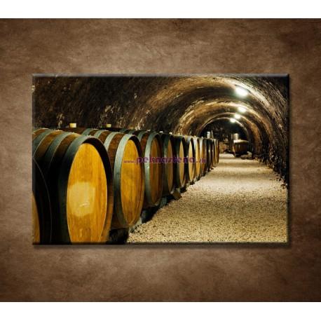 Obrazy na stenu - Staré vínne sudy