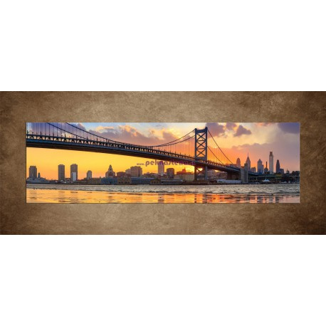 Obrazy na stenu - Franklin Bridge