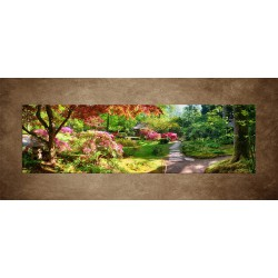 Obraz - Japonský park - panoráma