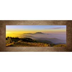 Obrazy na stenu - Východ slnka na horách
