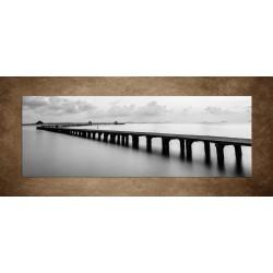 Obraz - Most na pláži - panoráma