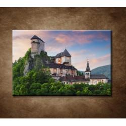 Obrazy na stenu - Oravský zámok