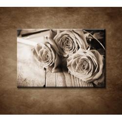 Obrazy na stenu - Ruže na stole