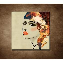 Obrazy na stenu - Art deco - žena