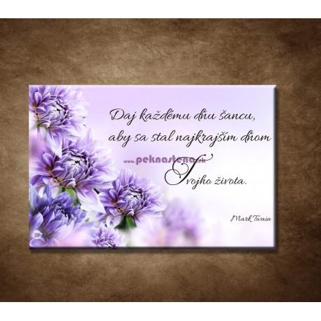 Obrazy na stenu - Daj každému dňu šancu...