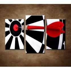 Obrazy na stenu - Šípka - 3-dielny 75x50cm