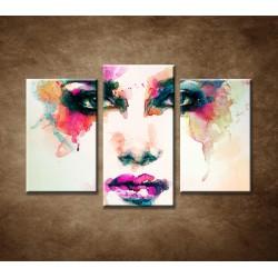 Obrazy na stenu - Abstraktný motív 3 - 3dielny 75x50cm