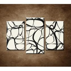 Obrazy na stenu - Abstraktný motív 17 - 3dielny 75x50cm