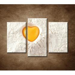 Obrazy na stenu - Milujeme pečenie - 3dielny 75x50cm