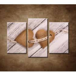 Obrazy na stenu - Zázvorové koláčiky - 3dielny 75x50cm